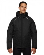 Logo Ash City - North End Men's Linear Insulated Jacket with Print