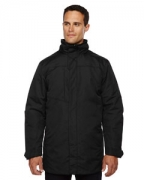 Monogrammed Ash City - North End Men's Promote Insulated Car Jacket