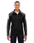 Customized Ash City - North End Men's Quick Performance Interlock Half-Zip Top