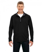 Logo Ash City - North End Men's Radar Half-Zip Performance Long-Sleeve Top
