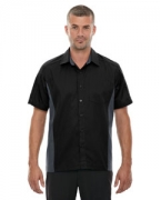 Customized Ash City - North End Men's Tall Fuse Colorblock Twill Shirt