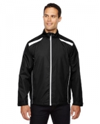 Embroidered Ash City - North End Men's Tempo Lightweight Recycled Polyester Jacket with Embossed Print