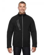 Embroidered Ash City - North End Men's Terrain Colorblock Soft Shell with Embossed Print