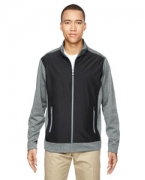 Monogrammed Ash City - North End Men's Victory Hybrid Performance Fleece Jacket