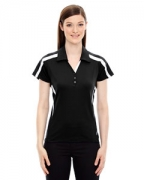Personalized Ash City - North End Sport Red Ladies' Accelerate UTK cool.logik Performance Polo