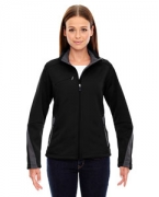 Logo Ash City - North End Sport Red Ladies' Escape Bonded Fleece Jacket