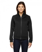 Logo Ash City - North End Sport Red Ladies' Evoke Bonded Fleece Jacket