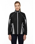 Promotional Ash City - North End Sport Red Ladies' Impact Active Lite Colorblock Jacket