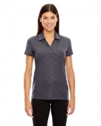Personalized Ash City - North End Sport Red Ladies' Maze Performance Stretch Embossed Print Polo