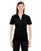 Embroidered Ash City - North End Sport Red Ladies' Recycled Polyester Performance Pique Polo