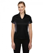 Promotional Ash City - North End Sport Red Ladies' Rotate UTK cool.logik Quick Dry Performance Polo