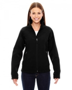 Customized Ash City - North End Sport Red Ladies' Three-Layer Light Bonded Soft Shell Jacket