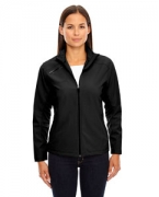 Logo Ash City - North End Sport Red Ladies' Three-Layer Light Bonded Soft Shell Jacket