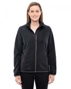 Monogrammed Ash City - North End Sport Red Ladies' Vector Interactive Polartec Fleece Jacket