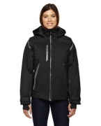 Monogrammed Ash City - North End Sport Red Ladies' Ventilate Seam-Sealed Insulated Jacket