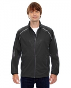 Embroidered Ash City - North End Sport Red Men's Dynamo Three-Layer Lightweight Bonded Performance Hybrid Jacket