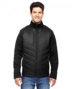 Monogrammed Ash City - North End Sport Red Men's Epic Insulated Hybrid Bonded Fleece Jacket