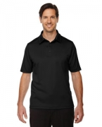 Custom Embroidered Ash City - North End Sport Red Men's Exhilarate Coffee Charcoal Performance Polo with Back Pocket