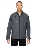 Embroidered Ash City - North End Sport Red Men's Frequency Lightweight Mlange Jacket