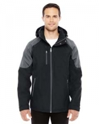 Monogrammed Ash City - North End Sport Red Men's Impulse Interactive Seam-Sealed Shell Jacket