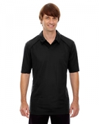 Monogrammed Ash City - North End Sport Red Men's Recycled Polyester Performance Pique Polo