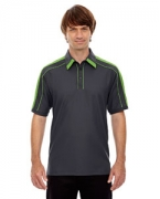 Embroidered Ash City - North End Sport Red Men's Sonic Performance Polyester Pique Polo