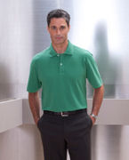 Custom Embroidered Ashworth Men's Combed Cotton Piqu Polo