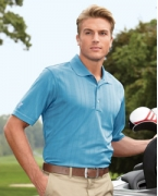 Custom Embroidered Ashworth Men's Performance Texture Polo