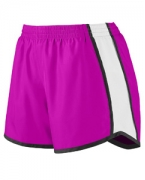 Logo Augusta Ladies' Jr. Fit Pulse Team Short
