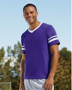 Embroidered Augusta Sportswear Sleeve Stripe Jersey