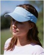Custom Embroidered Authentic Pigment Direct-Dyed Twill Visor