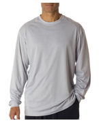 Embroidered Badger Adult B-Dry Core Long-Sleeve Performance Tee