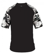 Customized Badger Adult Camo Sport Tee