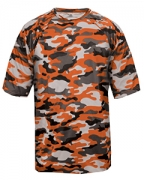 Customized Badger Adult Camo Tee