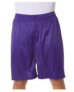 Embroidered Badger Adult Mesh/Tricot 9-Inch Shorts