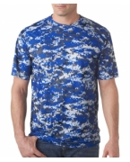 Logo Badger Men's Short Sleeve Sublimated Camo Tee