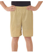 Monogrammed Badger Youth Mesh/Tricot 6-Inch Shorts