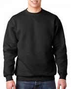 Embroidered Bayside Adult Crewneck Sweatshirt