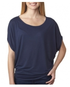 Custom Embroidered Bella+Canvas Ladies' Flowy Circle Top