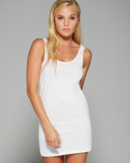 Embroidered Bella + Canvas Ladies' Jersey Tank Dress