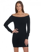 Embroidered Bella + Canvas Ladies' Lightweight Sweater Dress