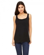 Logo Bella + Canvas Ladies' Relaxed Jersey Tank