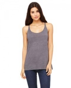 Monogrammed Bella + Canvas Ladies' Slouchy Tank