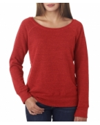 Customized Bella + Canvas Ladies' Sponge Fleece Wide Neck Sweatshirt