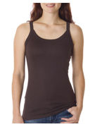 Promotional Bella Ladies Catrina Sheer Rib Tank
