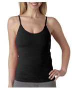 Custom Logo Bella Ladies' Cotton/Spandex Shelf-Bra Tank Top
