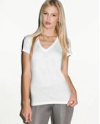Promotional Bella Ladies' 4.2 oz. Jersey Deep V-Neck T-Shirt