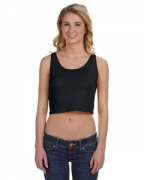 Promotional Bella Ladies' Poly-Cotton Crop Tank