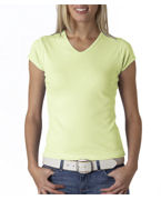 Promotional Bella Ladies' Short-Sleeve V-Neck T-Shirt