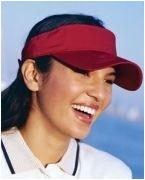 Logo Big Accessories Cotton Twill Visor